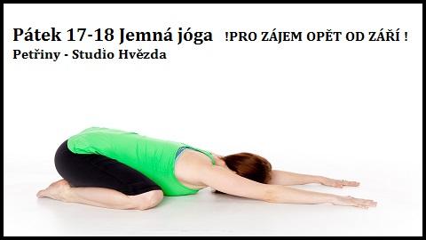 Nová lekce jemná jóga
